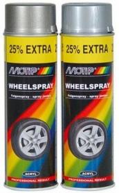 MOTIP Wheel Spray aeroz..  dažai ratlankiams, 500 ml