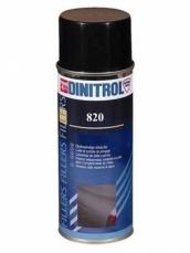 DINITROL 820 Strukturfix a.dažai plastikui, juodi 400ml