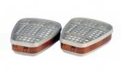 3M 6051  anglinių filtrų A1 pora (2 vnt.)
