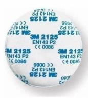 3M 2125 P2 dulkių filtrų pora (2vnt.)