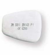 3M 5911 P1 dulkių filtrų pora (2 vnt.)