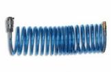 Žarna poliuretaninė su mo-va ir jungt.Ø8x12mm 5, 10,15 m