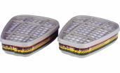 3M 6059  anglinių filtr.ABEK1 pora (2vnt.) - AKCIJA