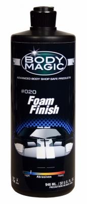 AM (BODY MAGIC) FOAM FINISH, užbaigiamasis  pol.. JAV