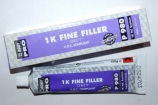 BODY 1K FINE FILLER P980 vienkomponentis gl., pilkas 150gr