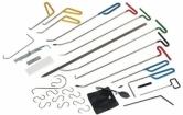 Įrankių rinkinys kėbulo įlen-kimų šalinimui be dažymo, 33 vnt.