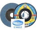 KLINGSPOR SMT624 Supra šlif.disk.. lapelinis D115, 125 mm