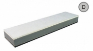 APP kaladėlė D, balta/pilka/ juoda 290*70*27 mm