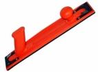 Plastikinė kaladėlė, dalinai lanksti oranžinė 70*400mm