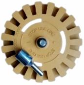 BLUE CAR guminis diskas lipdukų, klijų šalinimui D100 mm