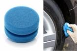 BUFF & SHINE kempinėlė apvali su įpjova (mėlyna) D80mm, H50mm