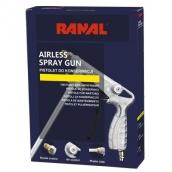RANAL pistoletas antikorozi nei dangai su reguliatoriumi