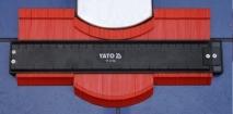 YATO kontūrų matuoklis/šablonas/trafaretas profiliams | 260 mm