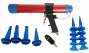 SICCO pneumatinis pistole-tas klijams, hermetikui 400ml