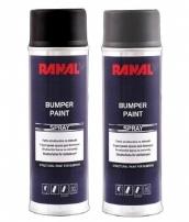 R.. BUMPER PAINT SPRAY struktūriniai a.dažai plastikui 400, 500 ml