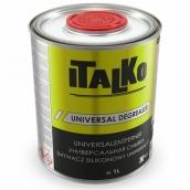 ITALKO UNIVERSAL DE-GREASER silikono, riebalų nuėmiklis-valiklis1 L